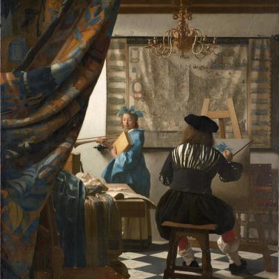 1818px jan vermeer the art of painting